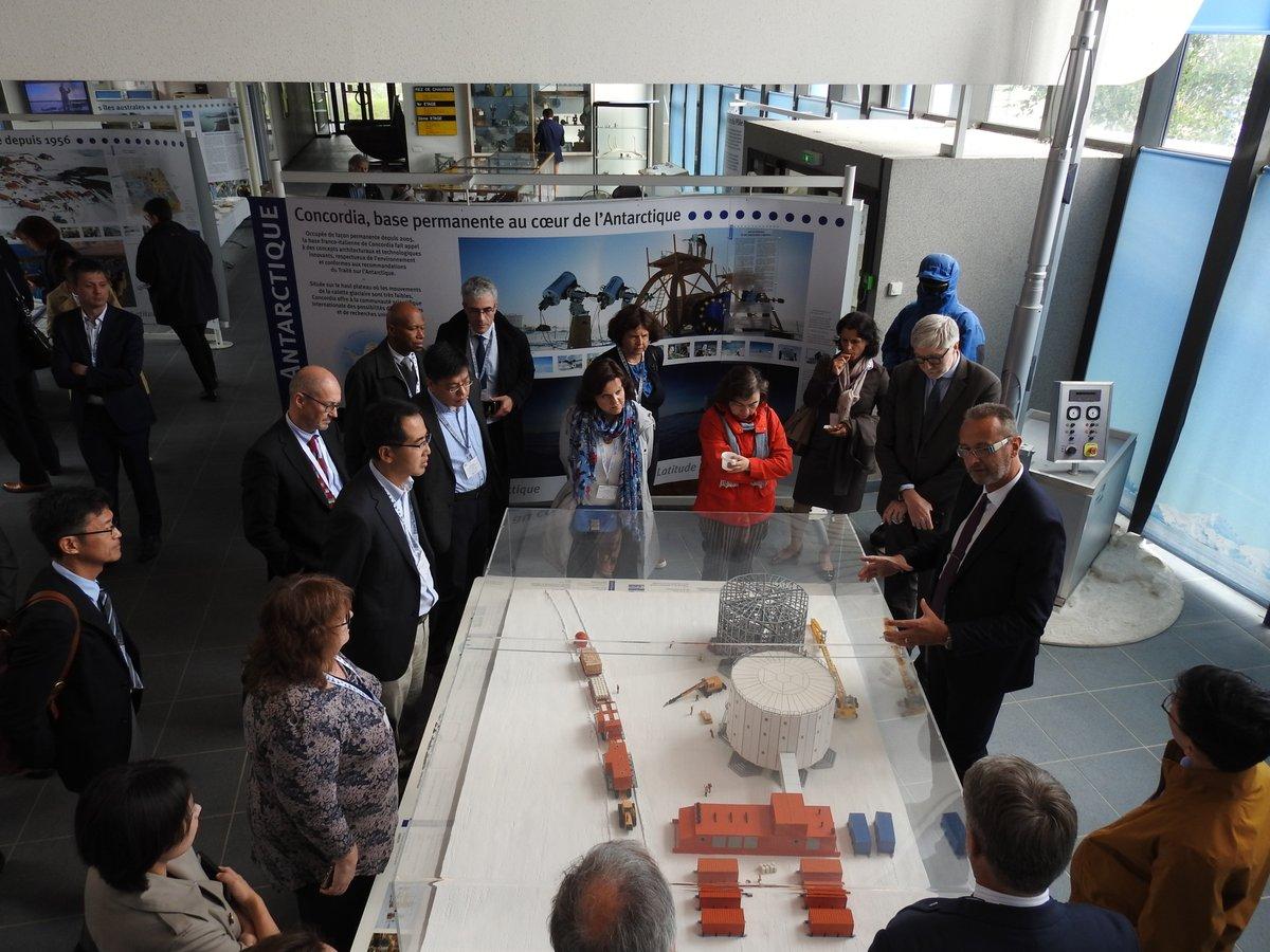 Visit of RI Concordia at Institut polaire français Paul-Emile Victor, (c) IPEV