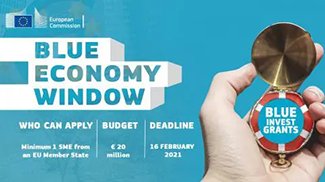 Blue Economy SME Window call 2020