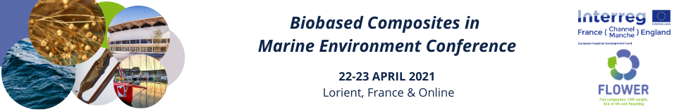 Biobased Composites in Marine Environment Conference banner