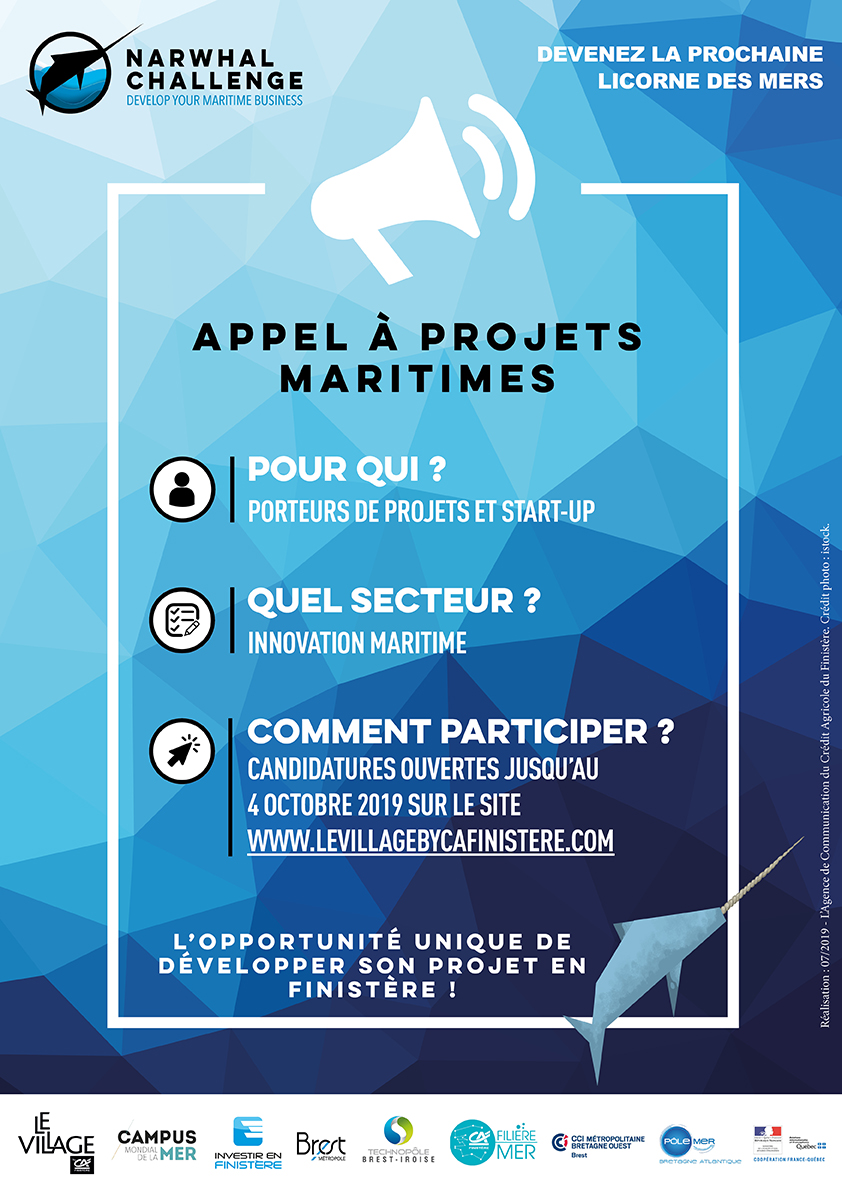 Affiche Narwhal Challenge
