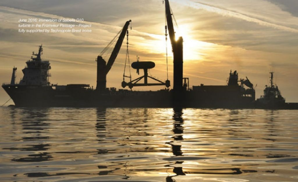 "Communication in ""Wave and Tidal Energy Network"" Spotlight on Western France"