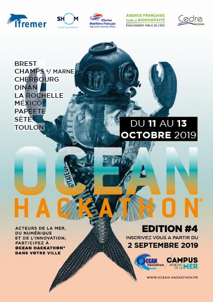 Ocean Hackathon® : plus de 100 défis sélectionnés !