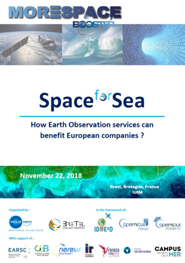 "Le programme de la journée ""Space for Sea"" est disponible"