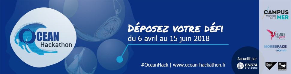 Océan Hackathon 2018 | Call for challenges open