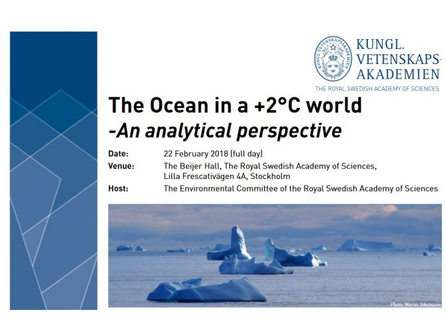 The Ocean in a +2°C world  -An analytical perspective