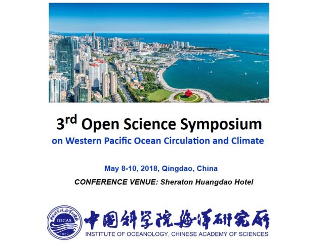 3rd Open Science Symposium - on Western Pacific Ocean Circulation and Climate