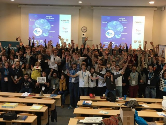 12 projects, 86 teammates, participants from all over the word… an outstanding 3rd edition for Ocean Hackathon!