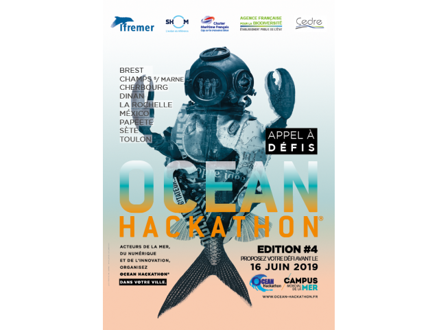 Ocean Hackathon® 4th edition: opening of the call for challenges in 9 cities in France and around the world!