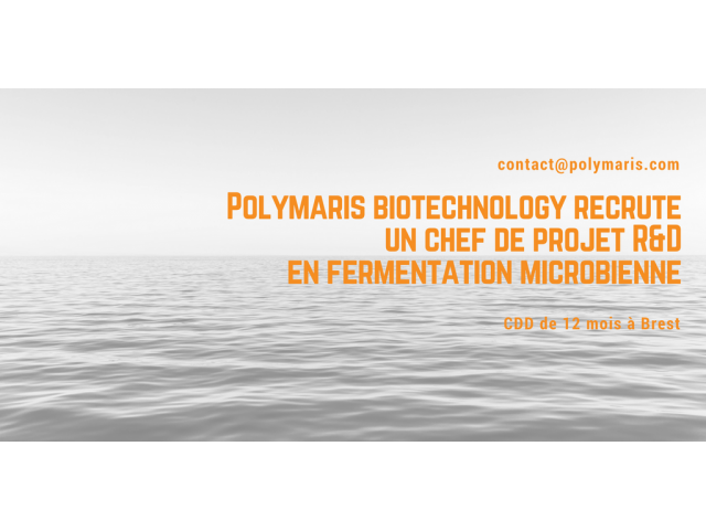 Polymaris biotechnology is recruiting an R & D project manager in microbial fermentation