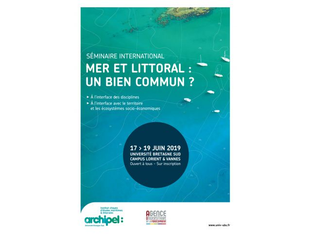 "International seminar ""Sea & Coastal: a common good?"""