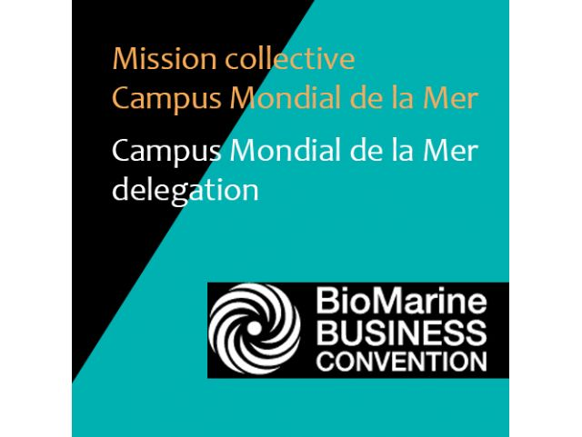 Join the delegation and participate to the BIOMARINE business convention, Oct. 1-3 2017, Rimouski, Québec