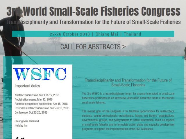 3rd World Small-Scale Fisheries Congress
