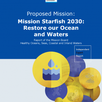 Report of the Mission Board Healthy Oceans, Seas, Coastal and Inland Waters