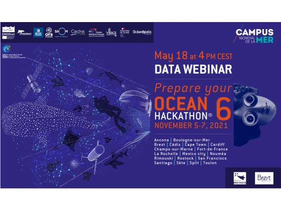 Data Webinar: prepare your Ocean Hackathon®