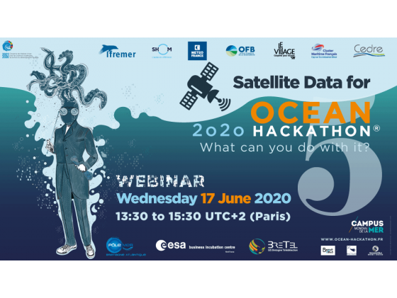 Webinaire : Satellite Data for Ocean Hackathon®