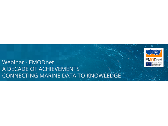 Webinar - EMODnet: A decade of achievements connecting marine data to knowledge