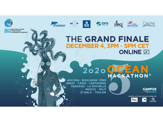 Ocean Hackathon® 2020: the grand finale
