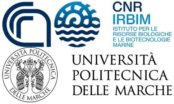 CNR-IRBIM (Italian National Research Council - Institute for Biological Resources and Marine Biotechnologies) and Università Politecnica delle Marche (UNIVPM)